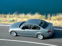 Фото авто BMW 3 серия E90/E91/E92/E93, ракурс: сверху цвет: голубой