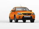 Фото авто ВАЗ (Lada) Priora 1 поколение [рестайлинг], ракурс: 315 цвет: оранжевый