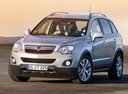Фото авто Opel Antara 1 поколение [рестайлинг], ракурс: 45 цвет: бежевый