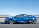Фото авто Audi A5 2 поколение, ракурс: 90 цвет: синий