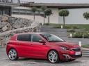 Фото авто Peugeot 308 T9, ракурс: 315 цвет: красный