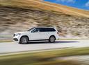 Фото авто Mercedes-Benz GLS-Класс X166, ракурс: 90 цвет: белый