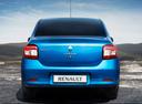 Фото авто Renault Logan 2 поколение, ракурс: 180 цвет: синий