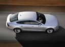 Фото авто Audi A5 8T, ракурс: сверху цвет: серебряный