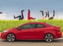 Фото авто Kia Cerato 3 поколение, ракурс: 90 цвет: красный