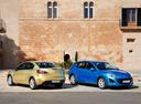 Фото авто Mazda 3 BL, ракурс: 135 цвет: салатовый