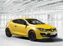 Фото авто Renault Megane 3 поколение [2-й рестайлинг], ракурс: 315 цвет: желтый