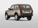 Фото авто ВАЗ (Lada) 4x4 1 поколение [2-й рестайлинг], ракурс: 135 цвет: коричневый