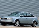 Фото авто Audi A6 4B/C5, ракурс: 45 цвет: серебряный