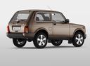 Фото авто ВАЗ (Lada) 4x4 1 поколение [2-й рестайлинг], ракурс: 225 цвет: коричневый