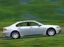Фото авто BMW 7 серия E65/E66, ракурс: 270 цвет: серебряный