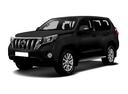 Подержанный Toyota Land Cruiser Prado, черный , цена 2 400 000 руб. в Челябинской области, отличное состояние