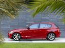 Фото авто BMW 1 серия F20/F21, ракурс: 90 цвет: красный