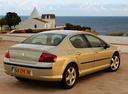 Фото авто Peugeot 407 1 поколение, ракурс: 225 цвет: бежевый