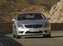 Фото авто Mercedes-Benz CL-Класс C216,  цвет: серебряный