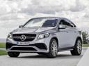 Фото авто Mercedes-Benz GLE-Класс W166/C292, ракурс: 45 цвет: серебряный