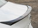 Фото авто Toyota Camry XV70, ракурс: задняя часть цвет: белый