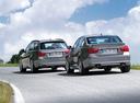 Фото авто Alpina B3 E90/91/92/93, ракурс: 135 цвет: серебряный