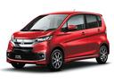 Фото авто Mitsubishi eK B11 [рестайлинг], ракурс: 45 цвет: красный