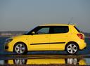 Фото авто Skoda Fabia 5J, ракурс: 90 цвет: желтый