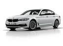 Фото авто BMW 5 серия G30, ракурс: 45 - рендер цвет: белый