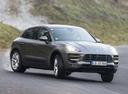 Фото авто Porsche Macan 1 поколение, ракурс: 315 цвет: мокрый асфальт