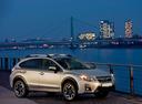Фото авто Subaru XV 1 поколение [рестайлинг], ракурс: 315 цвет: серебряный