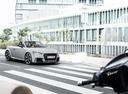 Фото авто Audi TT 8S, ракурс: 315 цвет: серый