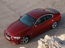 Фото авто BMW 3 серия E90/E91/E92/E93 [рестайлинг], ракурс: сверху цвет: красный