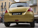 Фото авто Suzuki Swift 4 поколение [рестайлинг], ракурс: 180 цвет: желтый