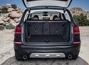 Фото авто BMW X3 G01, ракурс: багажник цвет: серый