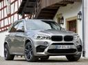 Фото авто BMW X5 M F85, ракурс: 315 цвет: серый