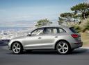 Фото авто Audi Q5 8R [рестайлинг], ракурс: 90 цвет: серый