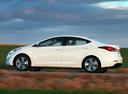 Фото авто Hyundai Elantra MD [рестайлинг], ракурс: 90 цвет: белый