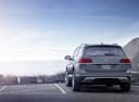 Фото авто Volkswagen Teramont 1 поколение, ракурс: 180 цвет: серый