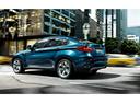 Фото авто BMW X6 E71 [рестайлинг], ракурс: 135 цвет: синий