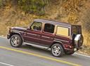 Фото авто Mercedes-Benz G-Класс W463 [2-й рестайлинг], ракурс: 135 цвет: бордовый