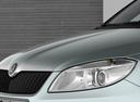Фото авто Skoda Fabia 5J [рестайлинг], ракурс: передние фары