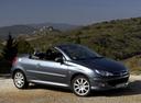 Фото авто Peugeot 206 1 поколение [рестайлинг], ракурс: 315 цвет: мокрый асфальт