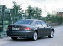 Фото авто BMW 7 серия E65/E66, ракурс: 225 цвет: мокрый асфальт