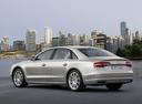 Фото авто Audi A8 D4/4H [рестайлинг], ракурс: 135 цвет: бежевый