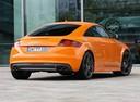 Фото авто Audi TT 8J [рестайлинг], ракурс: 225 цвет: оранжевый
