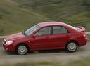 Фото авто Kia Cerato 1 поколение, ракурс: 90 цвет: красный