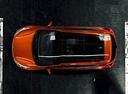 Фото авто Kia Cee'd 2 поколение, ракурс: сверху цвет: оранжевый