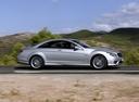Фото авто Mercedes-Benz CL-Класс C216, ракурс: 270 цвет: серебряный