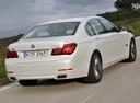 Фото авто BMW 7 серия F01/F02 [рестайлинг], ракурс: 225 цвет: белый