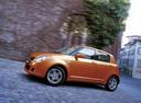 Фото авто Suzuki Swift 3 поколение, ракурс: 90 цвет: оранжевый