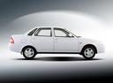 Фото авто ВАЗ (Lada) Priora 1 поколение, ракурс: 270 цвет: белый