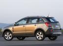 Фото авто Opel Antara 1 поколение, ракурс: 90 цвет: бежевый