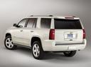 Фото авто Chevrolet Tahoe 4 поколение, ракурс: 135 - рендер цвет: белый